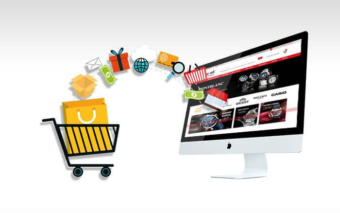 Kết quả hình ảnh cho thiết kế web thương mại điện tử